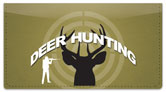 Deer Hunter Checkbook Cover