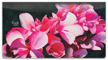 Floral Series 3 Checkbook Cover