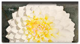 Floral Series 5 Checkbook Cover