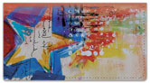 Hearts and Stars Checkbook Cover