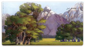 Grand Tetons Checkbook Cover
