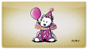 Clown Series Checkbook Cover