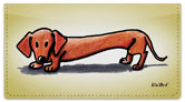 Doxie Series Checkbook Cover