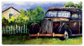 Fields of Rust Checkbook Cover