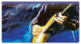 Guitar Art 1 Checkbook Cover