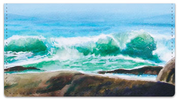 Meyer Seascape Checkbook Cover