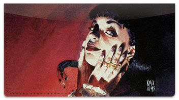 Vampires 2 Checkbook Cover