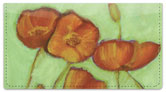 Sandrine Pelissier Flower Set Checkbook Cover