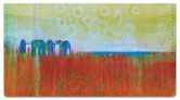 Semi Abstract Checkbook Cover