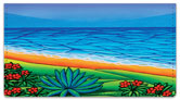 At the Beach 1 Checkbook Cover