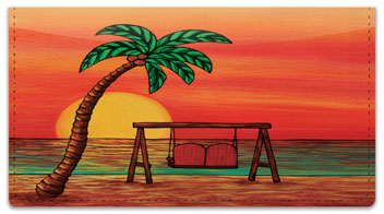 Pohl Sunset Checkbook Cover