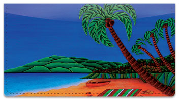 Hawaiian Flavor Checkbook Cover