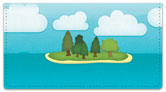 Storybook Landscape Checkbook Cover