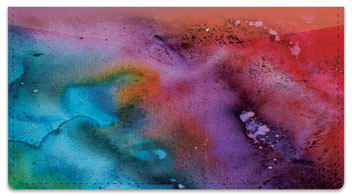 Liquid Abstract Checkbook Cover
