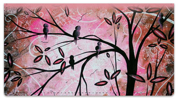 Magical Bird Checkbook Cover