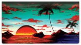 Tropical Surrealism Checkbook Cover