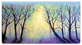 Misty Tree Checkbook Cover