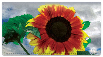 Bulone Bloom Checkbook Cover