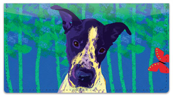 Love Me Love My Dog Checkbook Cover