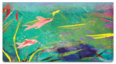 Daugherty Aquarium Checkbook Cover
