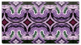 Purple Pattern Checkbook Cover