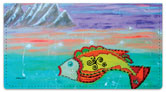 Universe Within Us Checkbook Cover