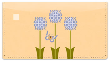 Spring Joy Checkbook Cover