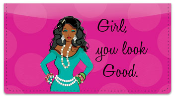 Working Girl Sisters Checkbook Cover