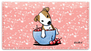Pit Bull Series Checkbook Cover