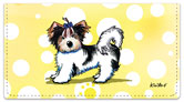 Yorkie Series 3 Checkbook Cover