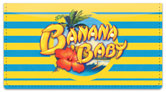 Banana Baby Checkbook Cover