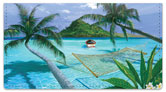 Westmorleand Tropical Checkbook Cover