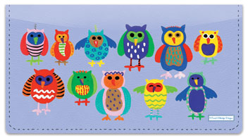Owl Together Now Checkbook Cover