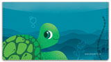 Sealife Checkbook Cover