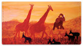 Serengeti Checkbook Cover