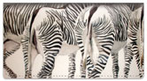 Kay Smith Zebra Checkbook Cover