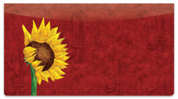 Sunflower Delight Checkbook Cover