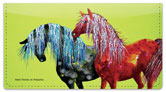 Nilles Pony Checkbook Cover
