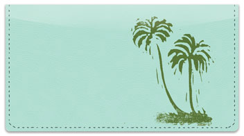 Tropical Nature Checkbook Cover