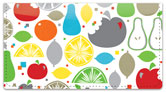 Howell Fruit Slice Checkbook Cover