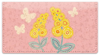 Mimosa Checkbook Cover