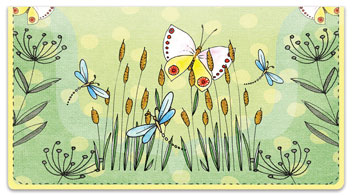 Spring Breeze Checkbook Cover