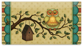 Life's A Hoot Checkbook Cover