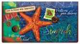 Hutto Sea Life Checkbook Cover