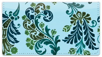 Prima Flourish Checkbook Cover