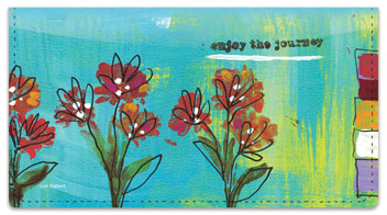 Daily Joy Checkbook Cover