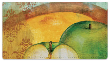 Knold Apple Checkbook Cover