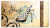 Knold Shoes Checkbook Cover