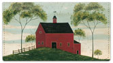 Kimble Barn Checkbook Cover