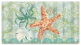 Boho Coastal Checkbook Cover